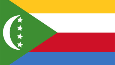 Eastern Africa Journalists Network EAJN flag of Comoros