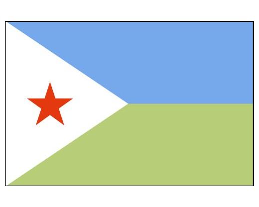 Eastern Africa Journalists Network EAJN flag of Djibouti