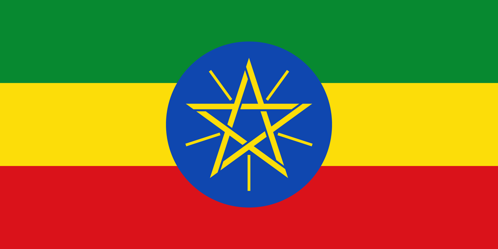 Eastern Africa Journalists Network EAJN flag of Ethiopia