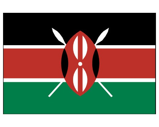 Eastern Africa Journalists Network EAJN flag of Kenya