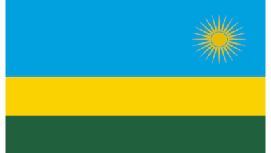 Eastern Africa Journalists Network EAJN flag of Rwanda
