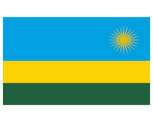 Eastern Africa Journalists Network EAJN flag of Rwanda