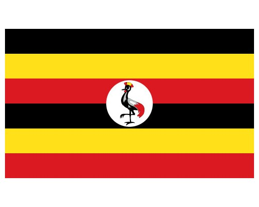 Eastern Africa Journalists Network EAJN flag of Uganda